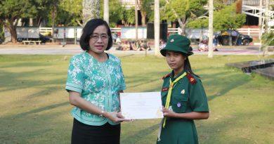 ยินดีกับนักเรียนที่ได้เกียรติบัตรแข่งขันทักษะต่าง ๆ